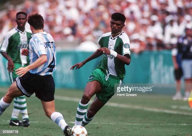 Nwanko KANU Fussballspieler NIGERIA