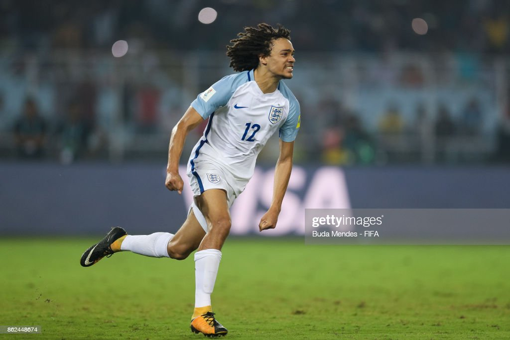 England v Japan - FIFA U-17 World Cup India 2017 Round of 16 : News Photo
