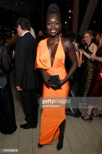 Nyakim Gatwech attends the 2019 Glamour Women Of The Year Awards at Alice Tully Hall on November 11 2019 in New York City