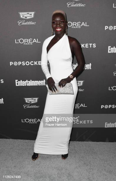 Nyakim Gatwech attends the Entertainment Weekly Pre-SAG Party at Chateau Marmont on January 26, 2019 in Los Angeles, California.