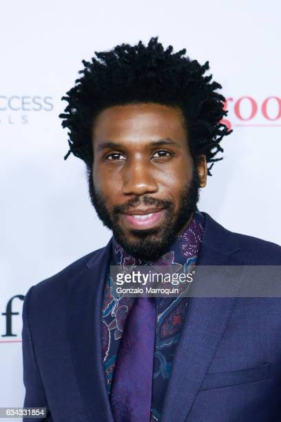 Nyambi Nyambi at the The Good Fight World Premiere at Jazz at Lincoln Center on February 8 2017 in New York City
