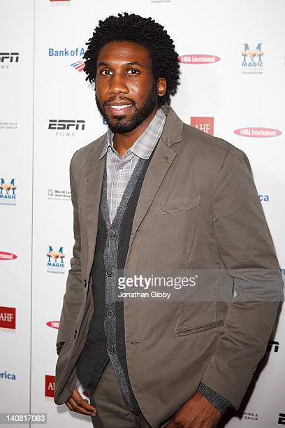 Nyambi Nyambi attends the Los Angeles Premiere of ESPN Films Documentary The Announcement on March 6 2012 in Los Angeles California