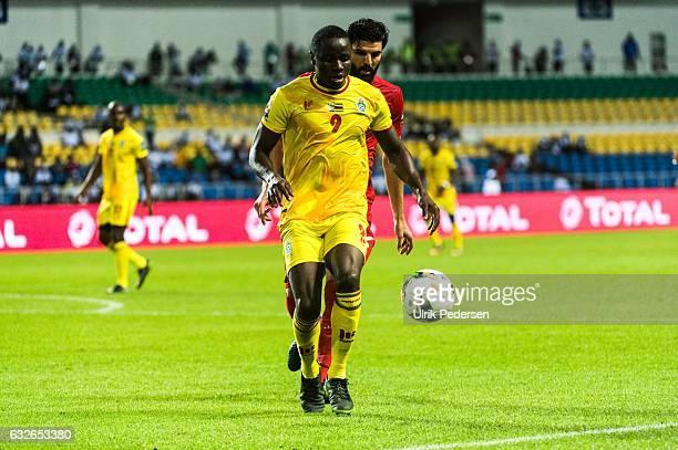 Nyasha Liberty Mushekwi of Zimbabwe during the African Nations Cup match between Zimbabwe and Tunisia on January 23 2017 in Libreville Gabon