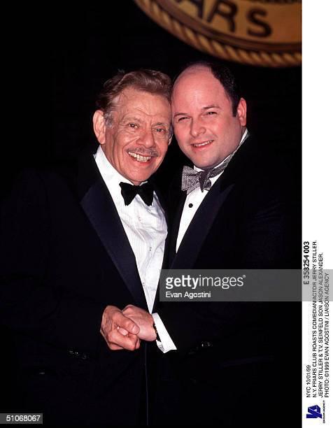 Nyc 10/01/99 NY Friars Club Roasts Comedian/Actor Jerry Stiller Jerry Stiller TV Seinfeld Son Jason Alexander