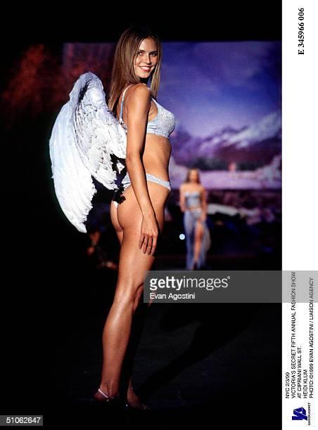 Nyc 2/3/99 Victoria's Secret Fifth Annual Fashion Show At Cipriani Wall St Heidi Klum
