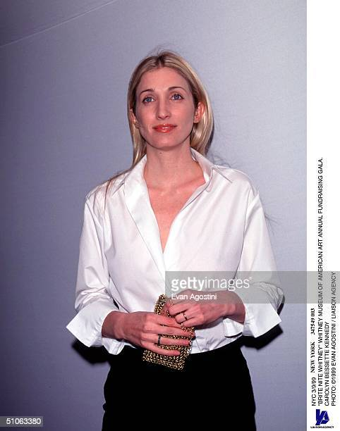 Nyc 3/9/99 Brite Nite Whitney Whitney Museum Of American Art Annual Fundraising Gala Carolyn Bessette Kennedy