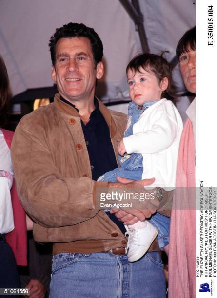 Nyc 4/25/99 The Elizabeth Glaser Pediatric Aids Foundation 6Th Annual NY Kids For Kids Fundraiser Paul Michael Glaser With New Daughter Zoe