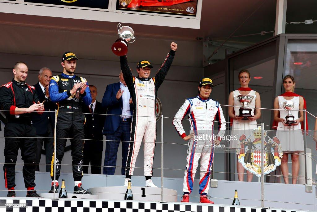 F1 Grand Prix of Monaco - Formula 2 Feature Race : News Photo