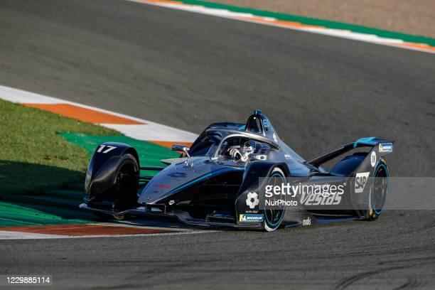 Nyck , Mercedes-Benz EQ Formula E Team, Mercedes-Benz EQ Silver Arrow 02, action during the ABB Formula E Championship official pre-season test at...