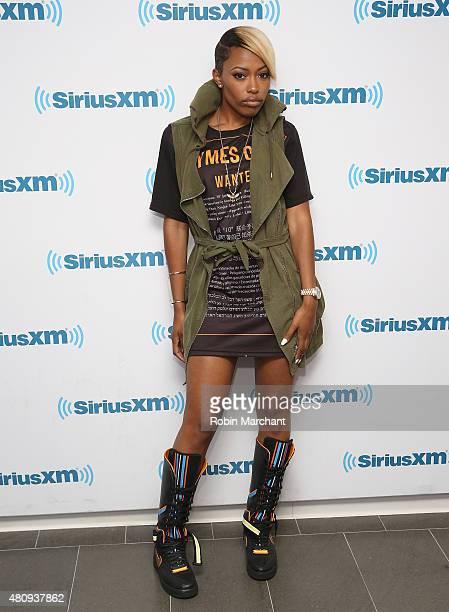 Nyemiah Supreme visits at SiriusXM Studios on July 16, 2015 in New York City.