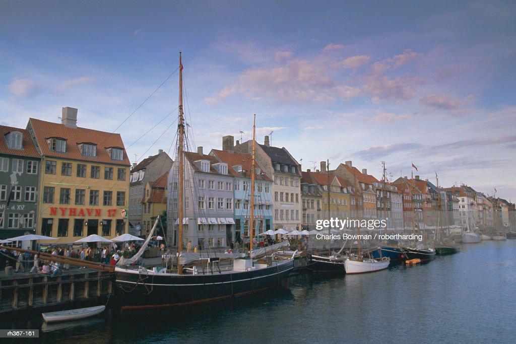 Nyhavn, Copenhagen, Denmark, Scandinavia, Europe : ストックフォト