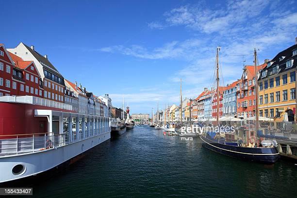 nyhavn, copenhagen - nyhavn stock pictures, royalty-free photos & images