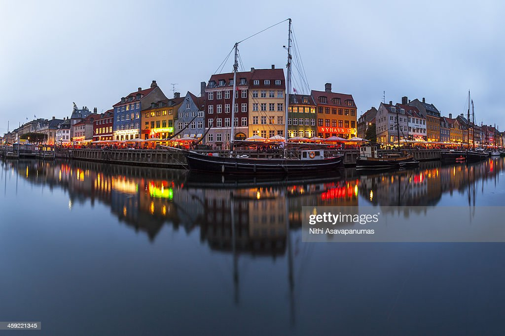 Nyhavn, Copenhagen : Stock Photo