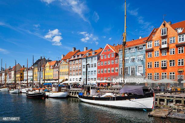 nyhavn - copenhagen - copenhagen stock pictures, royalty-free photos & images
