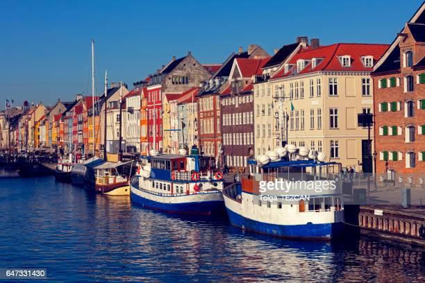 nyhavn - copenhagen - nyhavn stock pictures, royalty-free photos & images