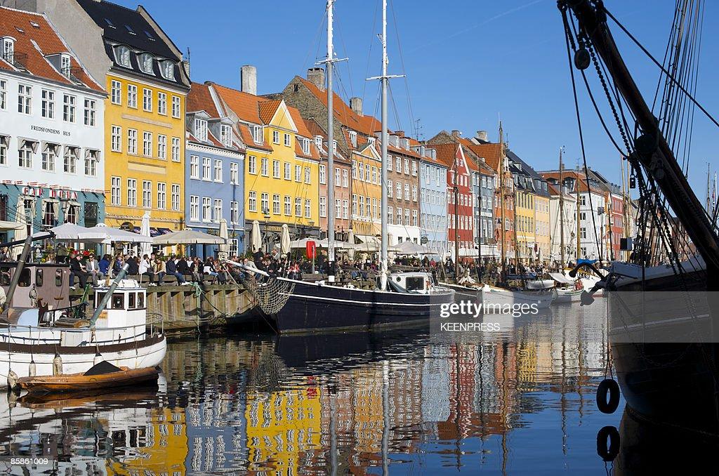 Nyhavn in Copenhagen : Stock-Foto