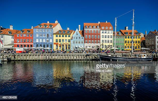 CONTENT] Nyhavn is 17thcentury waterfront canal and entertainment district in Copenhagen Denmark
