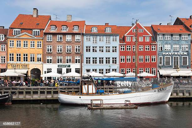 nyhavn - oresund region stock photos and pictures