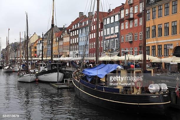 nyhavn waterfront - região da capital - fotografias e filmes do acervo