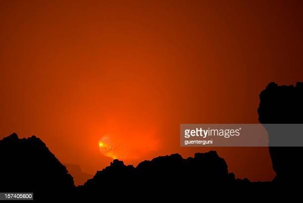 Nyiragongo vulcano: view into the heart of earth
