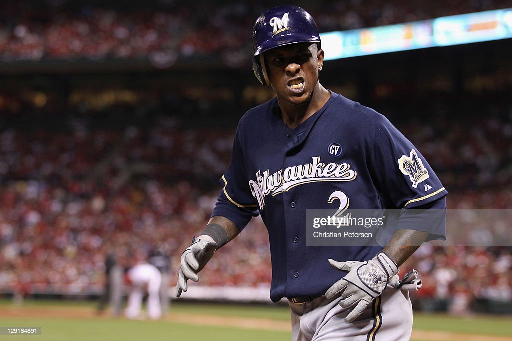 Milwaukee Brewers v St Louis Cardinals - Game 4