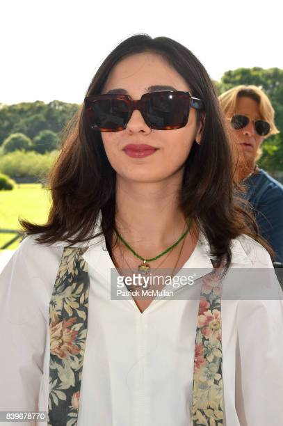 Nylane Fidan Mammadova attends Anne Hearst McInerney and Jay McInerney's celebration of Amanda Hearst and Hassan Pierre's Maison de Mode at a Private...