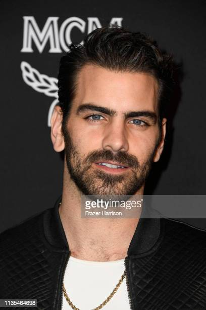 Nyle DiMarco attends Marie Claire Change Makers Celebration at Hills Penthouse on March 12 2019 in West Hollywood California