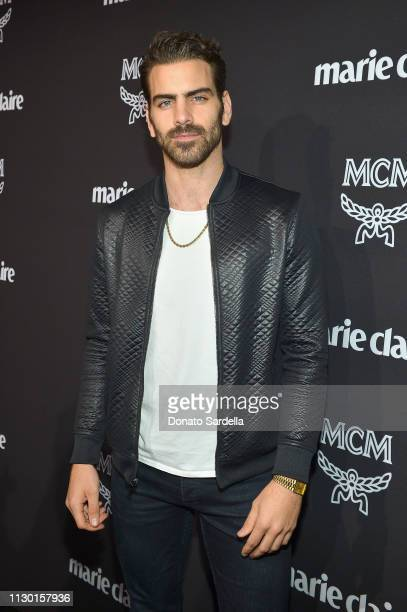 Nyle DiMarco attends MCM x Marie Claire Change Makers Event at Hills Penthouse on March 12 2019 in West Hollywood California