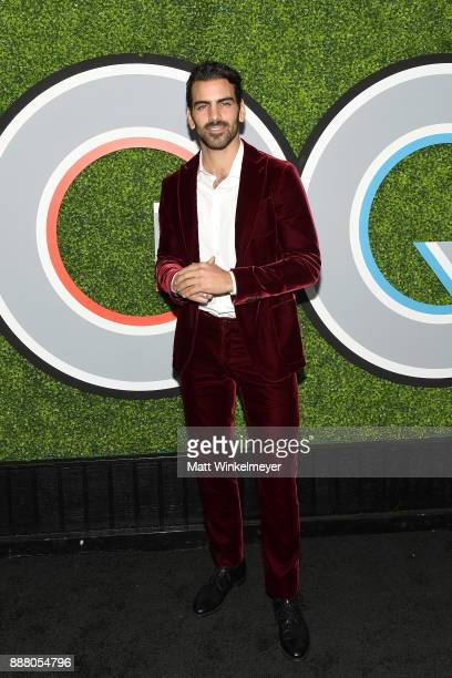 Nyle DiMarco attends the 2017 GQ Men of the Year party at Chateau Marmont on December 7 2017 in Los Angeles California