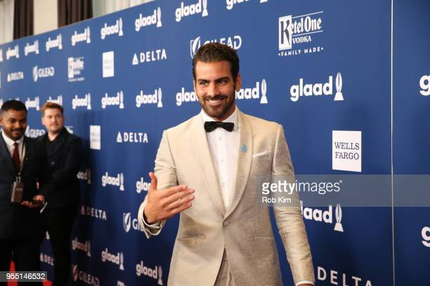 Nyle DiMarco attends the 29th Annual GLAAD Media Awards at Mercury Ballroom at the New York Hilton on May 5 2018 in New York City