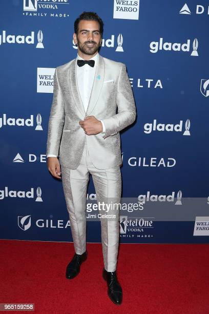 Nyle DiMarco attends the 29th Annual GLAAD Media Awards at the New York Hilton Midtown on May 5 2018 in New York New York