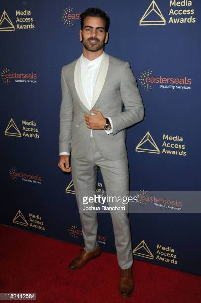 Nyle DiMarco attends the 40th Annual Media Access Awards In Partnership With Easterseals at The Beverly Hilton Hotel on November 14 2019 in Beverly...