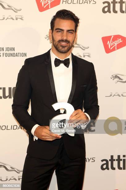 Nyle DiMarco attends the Attitude Awards 2017 at The Roundhouse on October 12 2017 in London England