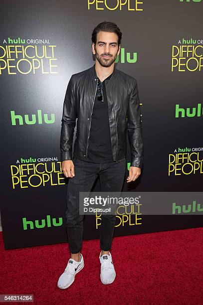 Nyle DiMarco attends the 'Difficult People' New York premiere at The Metrograph on July 11 2016 in New York City