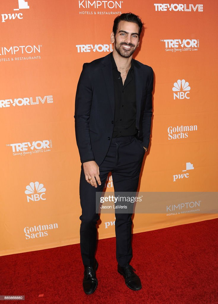 Nyle DiMarco attends The Trevor Project's 2017 TrevorLIVE LA at The Beverly Hilton Hotel on December 3, 2017 in Beverly Hills, California.