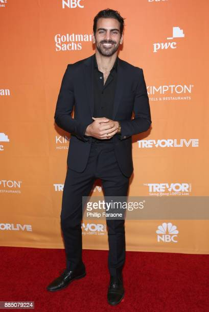 Nyle DiMarco attends The Trevor Project's 2017 TrevorLIVE LA Gala at The Beverly Hilton Hotel on December 3 2017 in Beverly Hills California