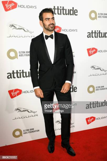Nyle DiMarco attends the Virgin Holiday's Attitude Awards 2017 at The Roundhouse on October 12 2017 in London England