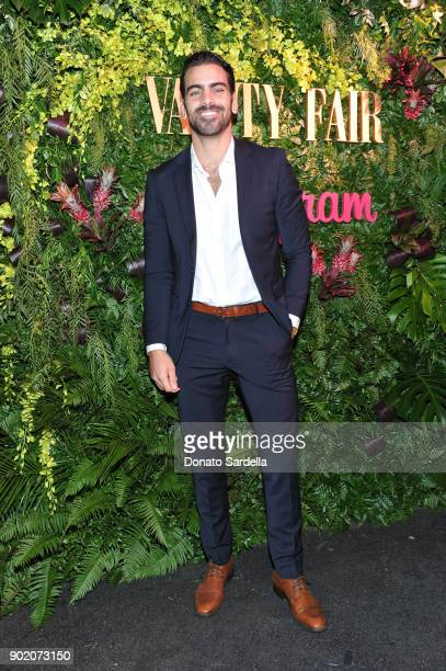 Nyle DiMarco attends Vanity Fair x Instagram Celebrate the New Class of Entertainers at Mel's Diner on Golden Globes Weekend at Mel's Diner on...