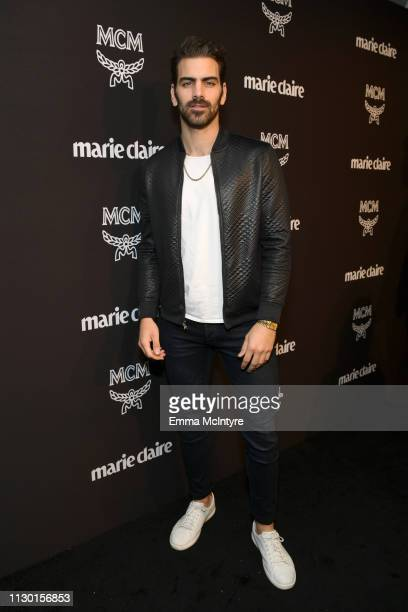 Nyle DiMarco is seen as Marie Claire honors Hollywood's Change Makers on March 12 2019 in Los Angeles California