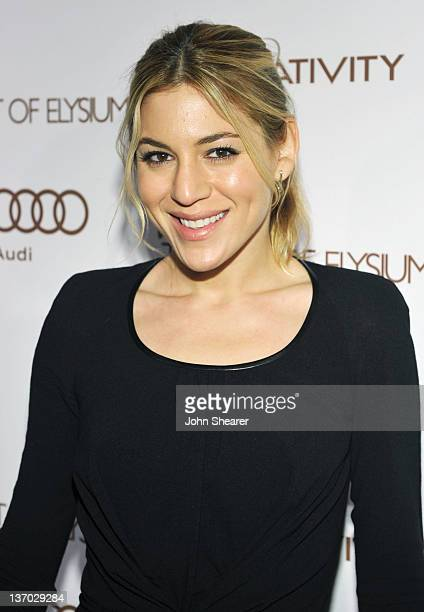 Nylon Editor Dani Stahl arrives at Audi presents The Art of Elysium's 5th annual HEAVEN at Union Station on January 14, 2012 in Los Angeles,...