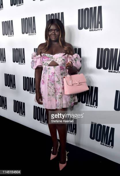 Nyma Tang attends UOMA Beauty Launch Event at NeueHouse Hollywood on April 25 2019 in Los Angeles California