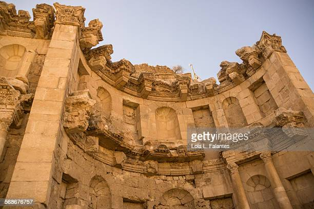 nymphaeum, jerash - lily jordan stock pictures, royalty-free photos & images