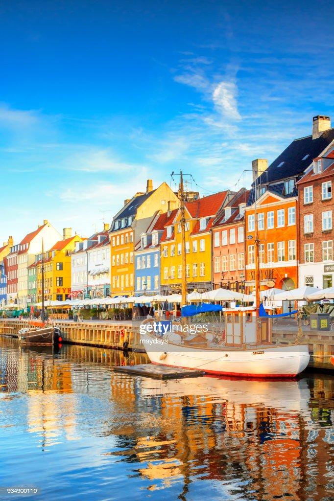 Nyvatn canal in Copenhagen : Stock Photo