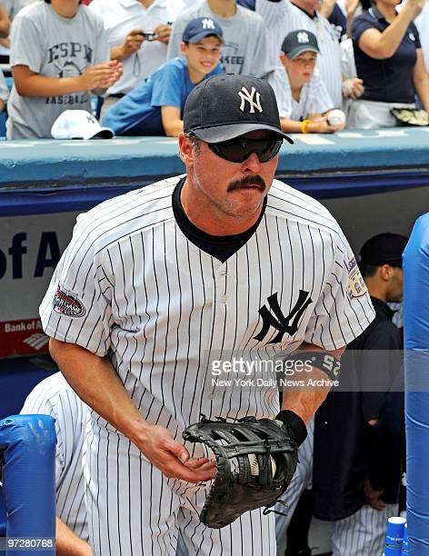 Yankees vs Tampa Bay Rays at Yankee Stadium., New York Yankees first baseman Jason Giambi