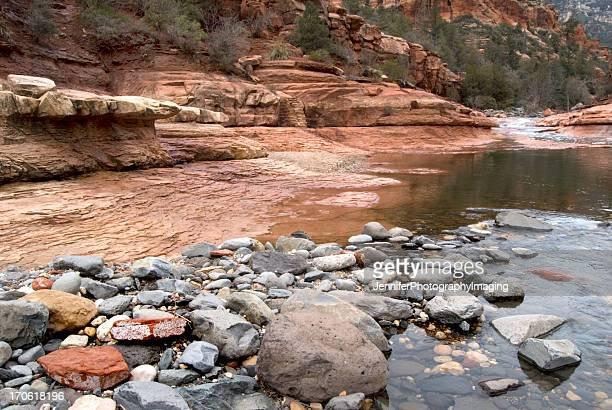 oak creek canyon - oak creek canyon - fotografias e filmes do acervo