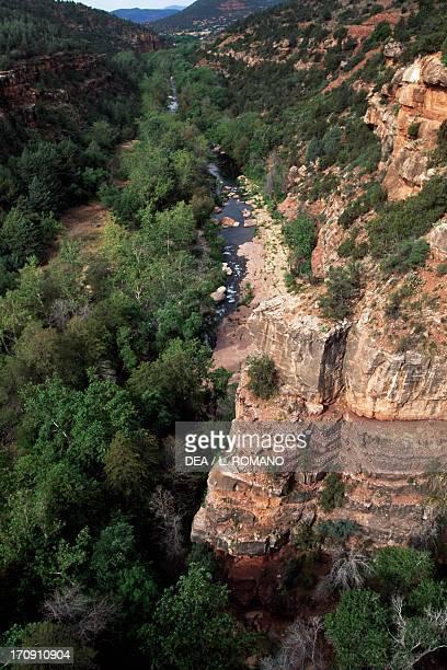 Oak Creek Oak Creek Canyon near Sedona Arizona United States of America