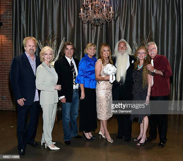 Oak Ridge Boys' and Wives Duane Allen Nora Lee Allen Donna Sterban Richard Sterban Simone De Staley William Lee Golden Mary Bonsall and Joe Bonsall...