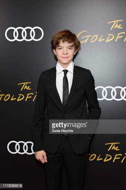 Oakes Fegley attends Audi Canada hosts the postscreening event for The Goldfinch during the Toronto International Film Festival at Don Alfonso 1890...