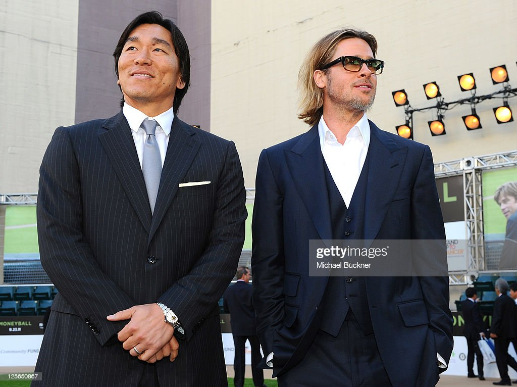 """Premiere Of Columbia Pictures' """"Moneyball"""" - Red Carpet"""