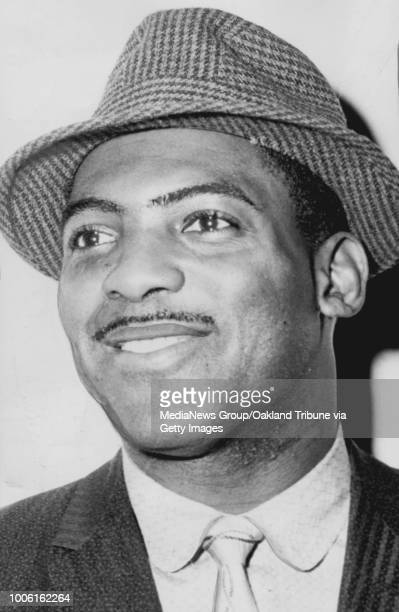 Oakland CA January 25 1960 John Henry Johnson attends a court hearing regarding alimony payments to his exwife #13#13Published January 26 1960